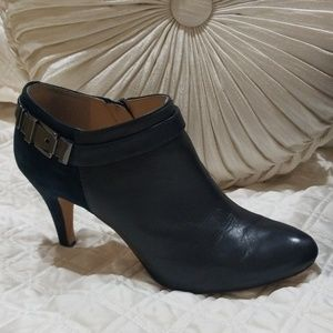 Vince Camuto Leather and Suede Booties